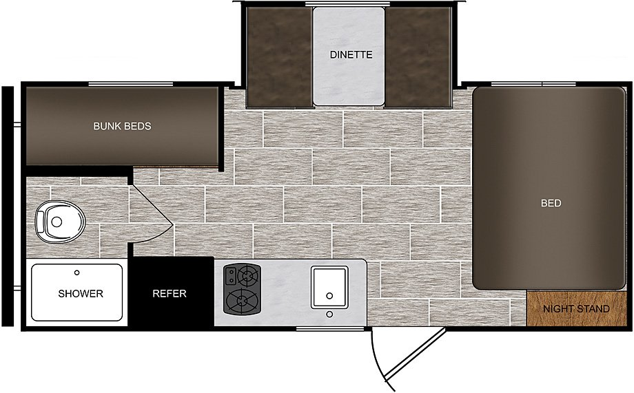 170BHS floor plan