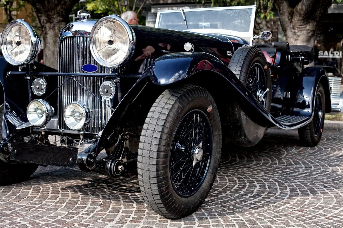 Antique Black Car