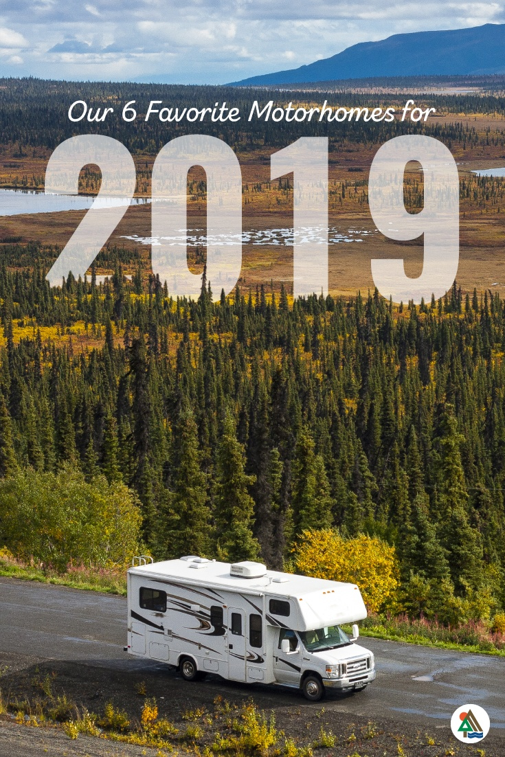 Top Class A, Class B and Class C motorhomes for 2019
