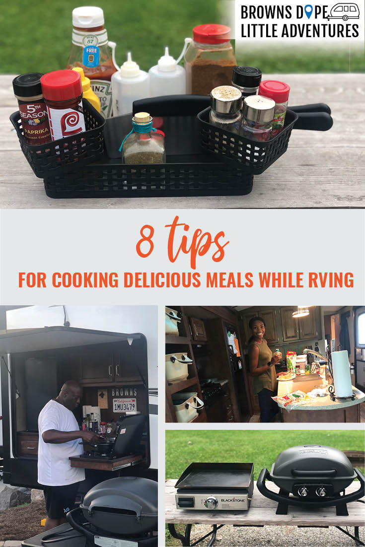 8 Tips for Cooking Delicious Meals While RVing