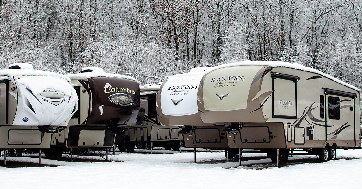 Top 5 RVs for Winter Camping