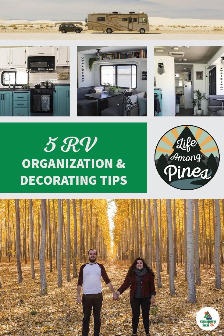 5 RV Organization and Decoration Tips