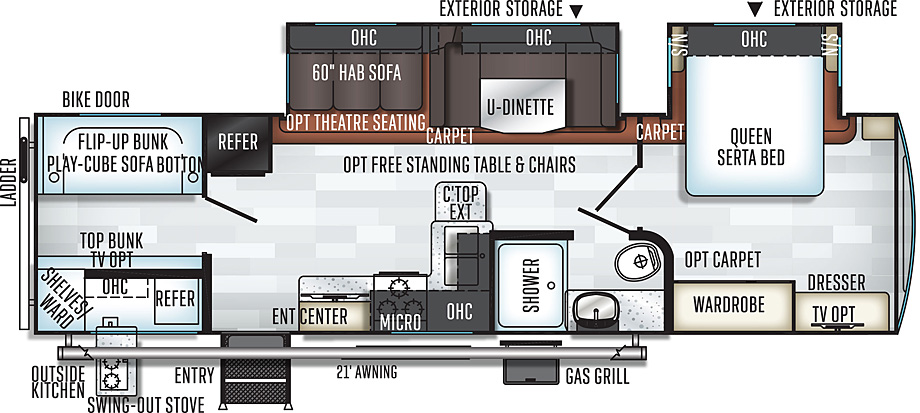 2911BS floor plan