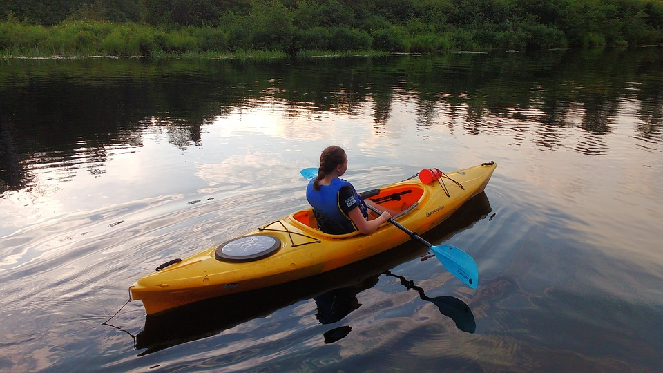 campgrounds with kayaking