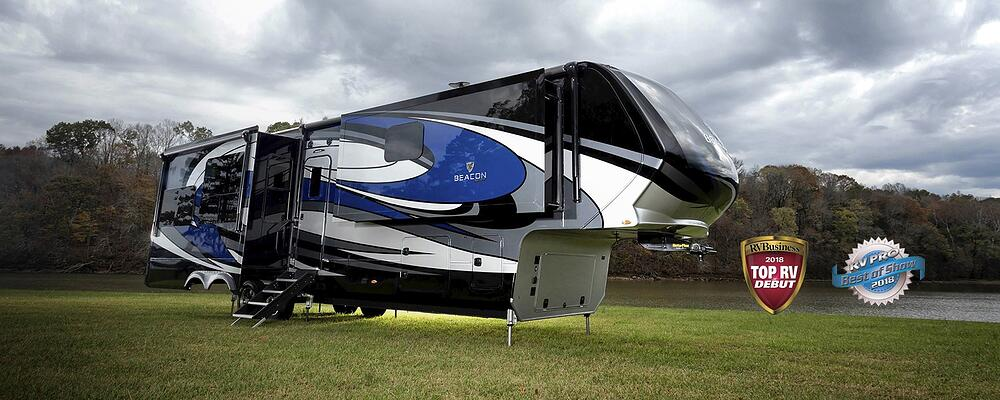 Full view of the VanLeigh FIfth Wheel Beacon 40FLB
