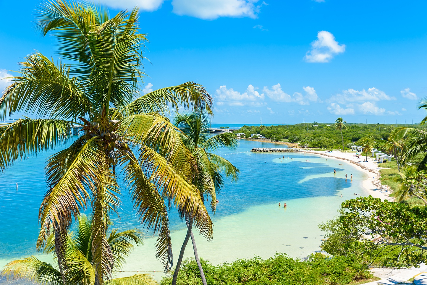 The Florida Keys are tropical islands with famous destinations like Key West