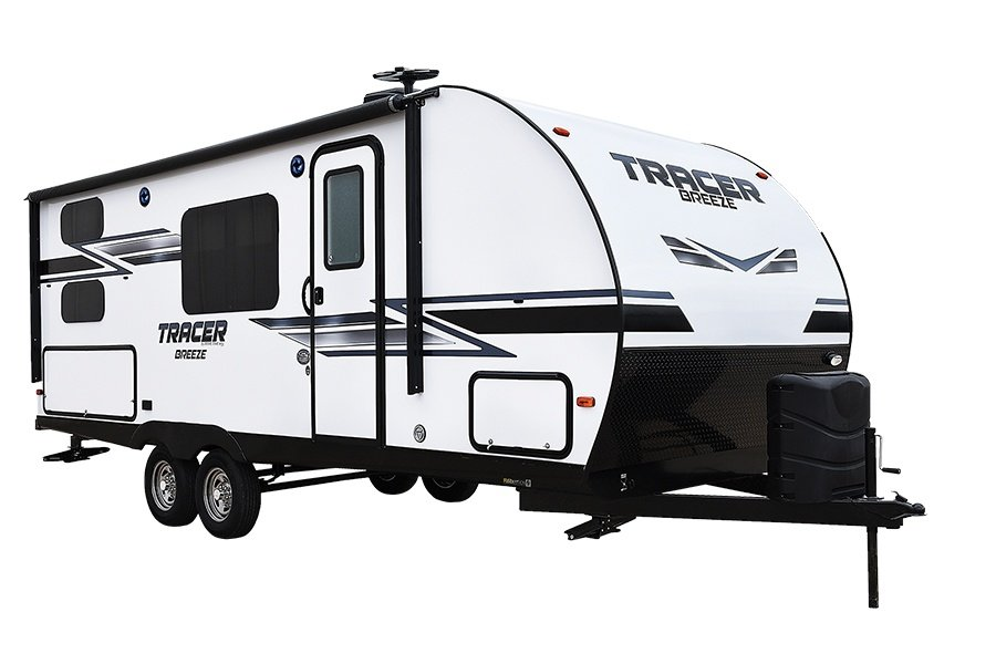 Prime Time Tracer Breeze Travel Trailer Exterior