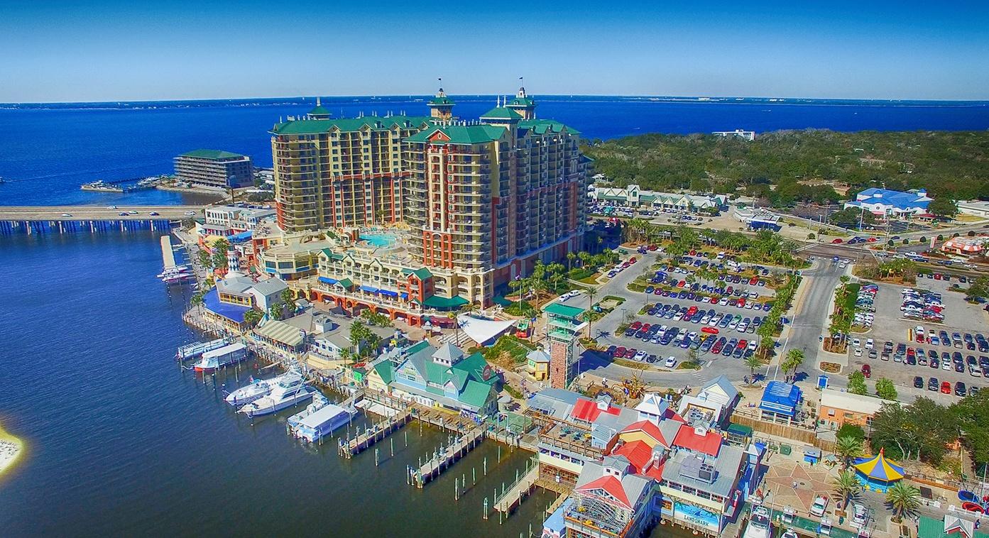 Destin, Florida features deep sea fishing and sugar white beaches