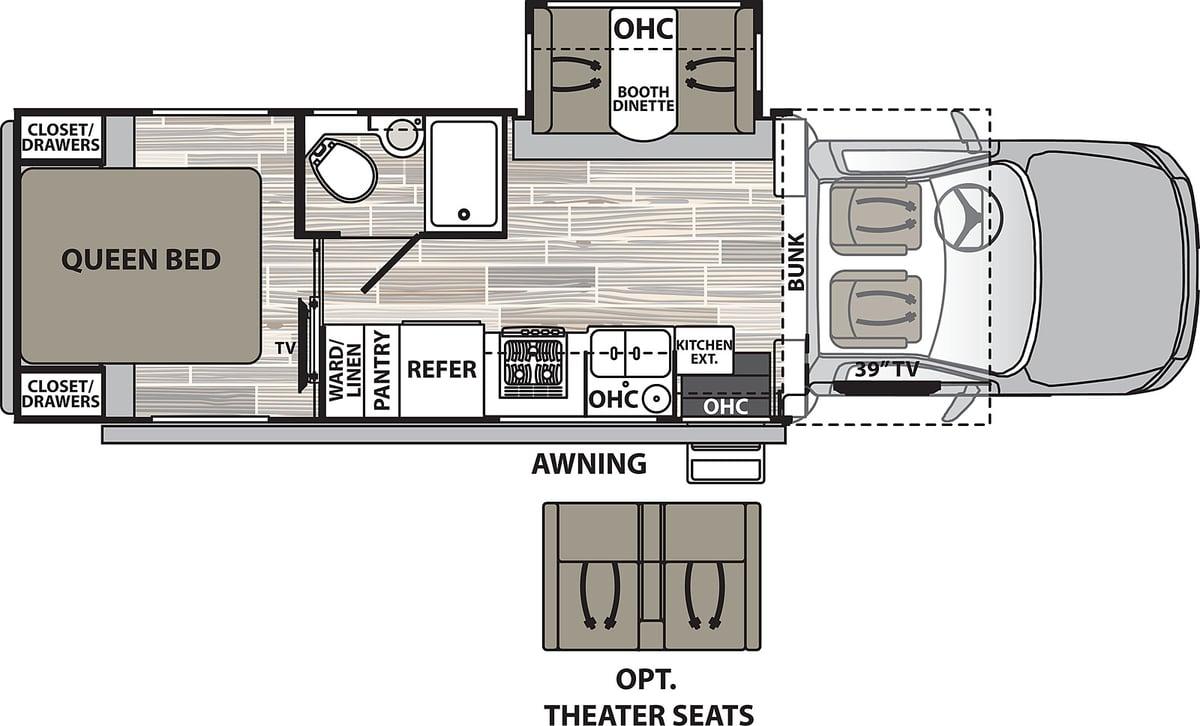 Dynamax Isata 5 28SS Floorplan