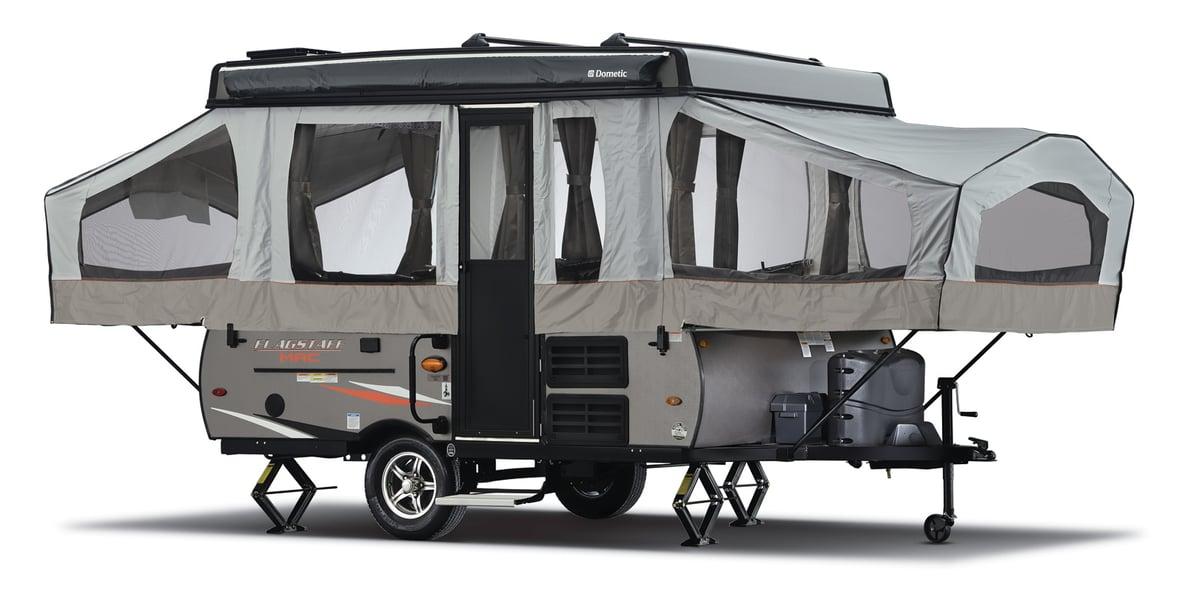 Exterior of 2021 Forest River Flagstaff MacHD Series 176LTD