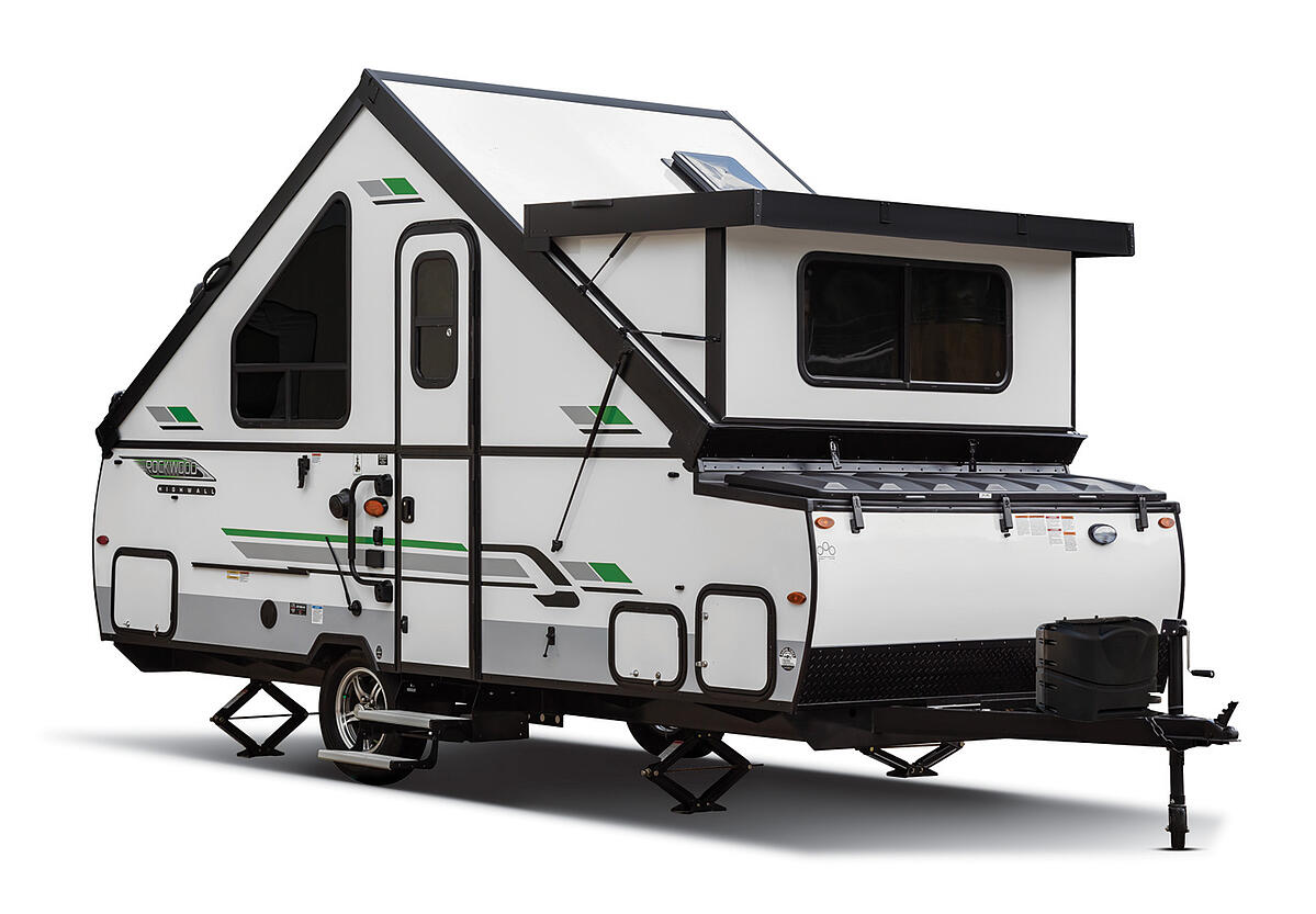 Exterior of 2021 Forest River RV Rockwood Hard Side High Wall Series A213HW
