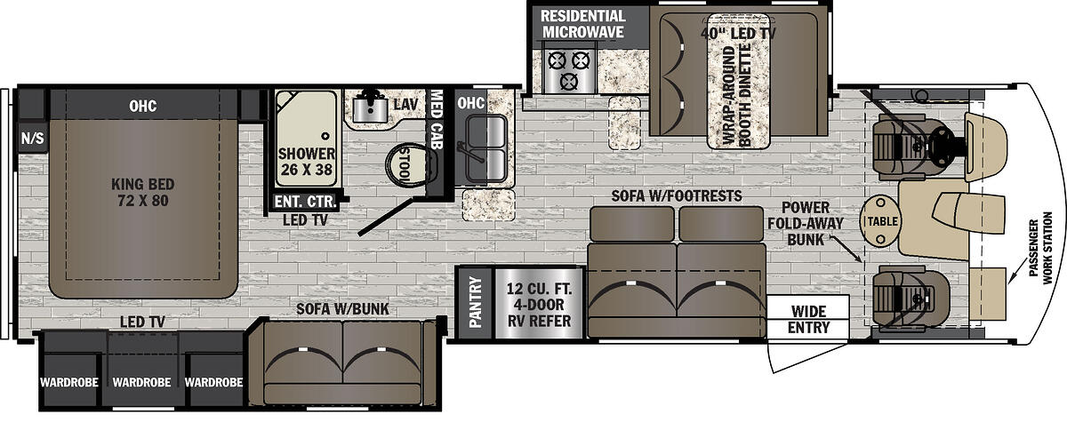 FR3 32DS Floorplan