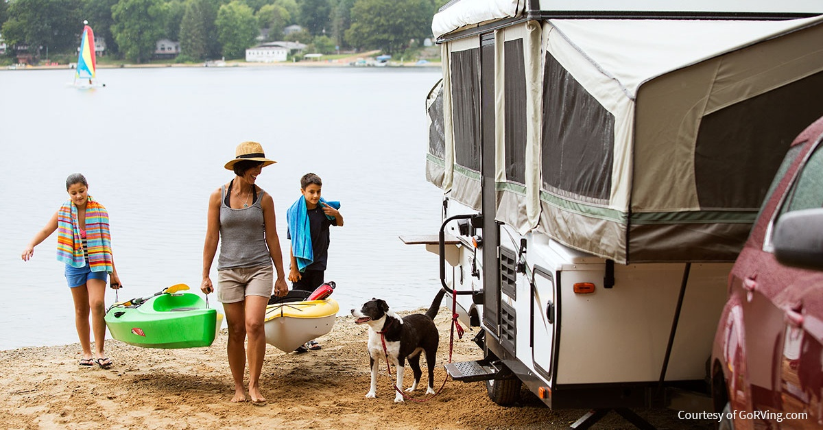 Packing list for family camping