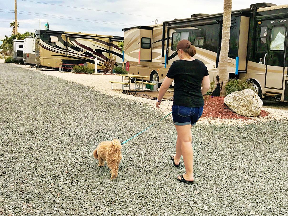Pet-friendly RV parks