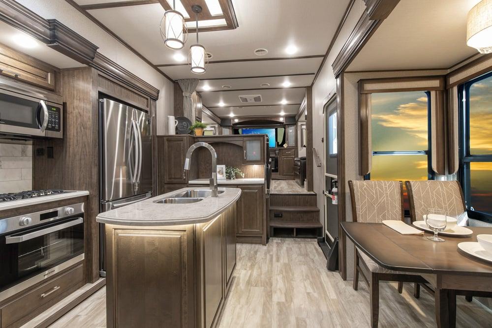 Grand Design Solitude 380FL Interior