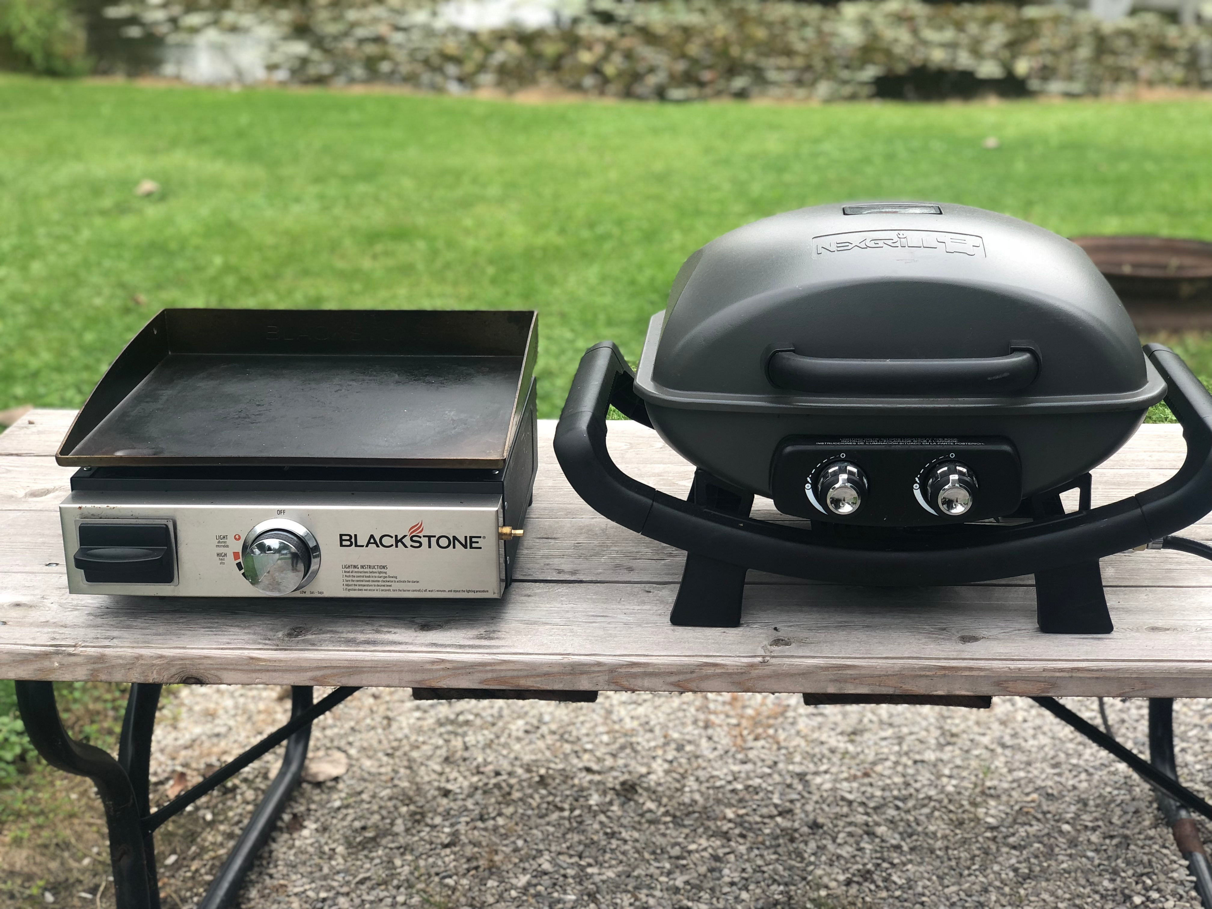 Use propane grills and griddles for versatile outdoor cooking options