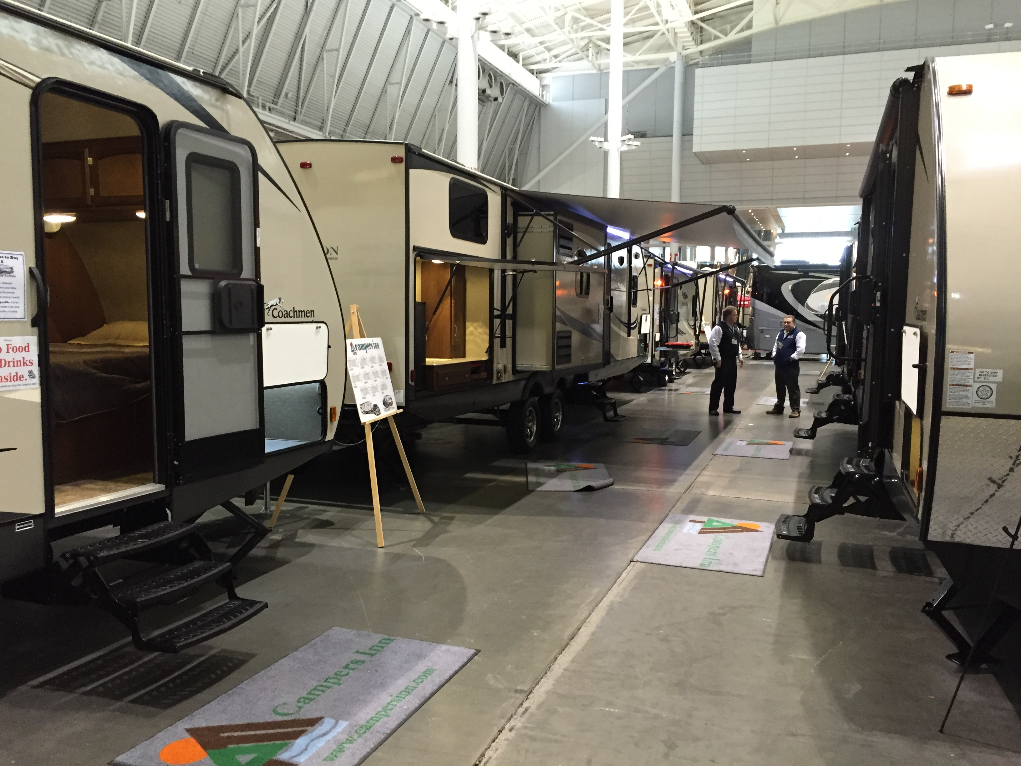 New England RVers can find incredible deals at the Boston RV and Camping Expo.