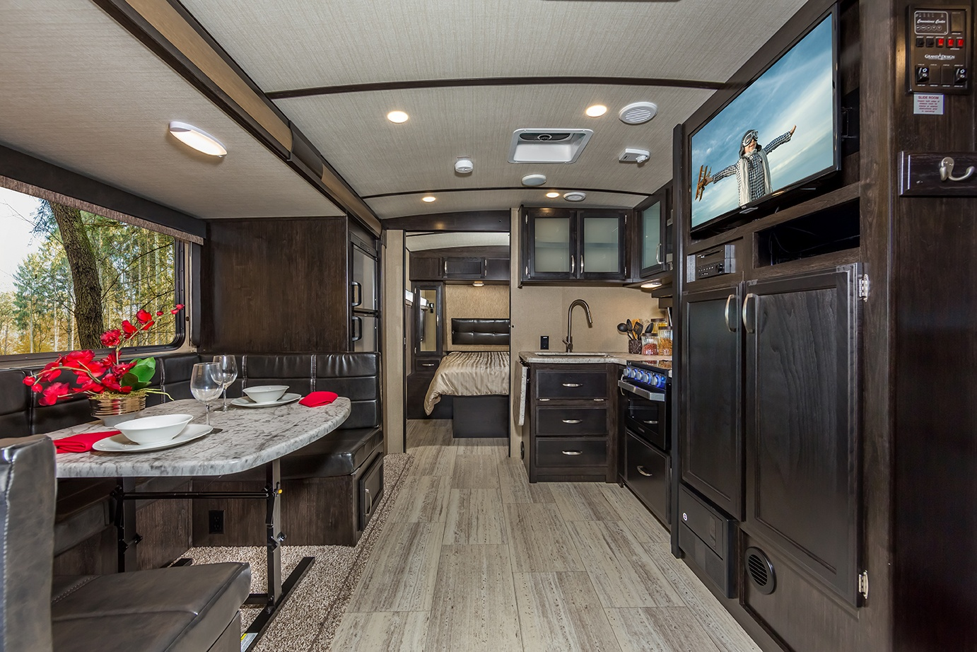 Grand Design Imagine Travel Trailer Interior
