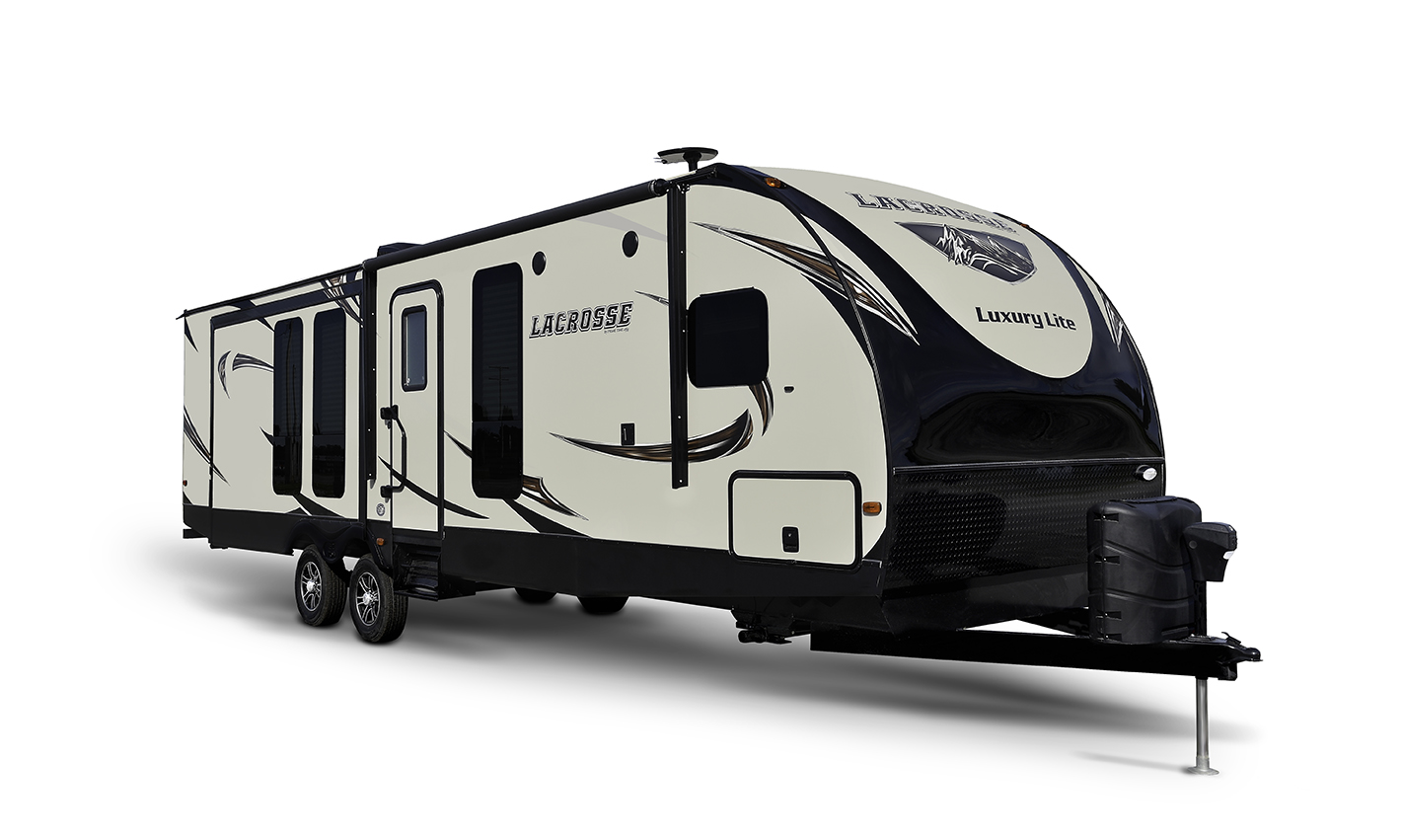 Prime Time RV LaCrosse 3299SE with king bed