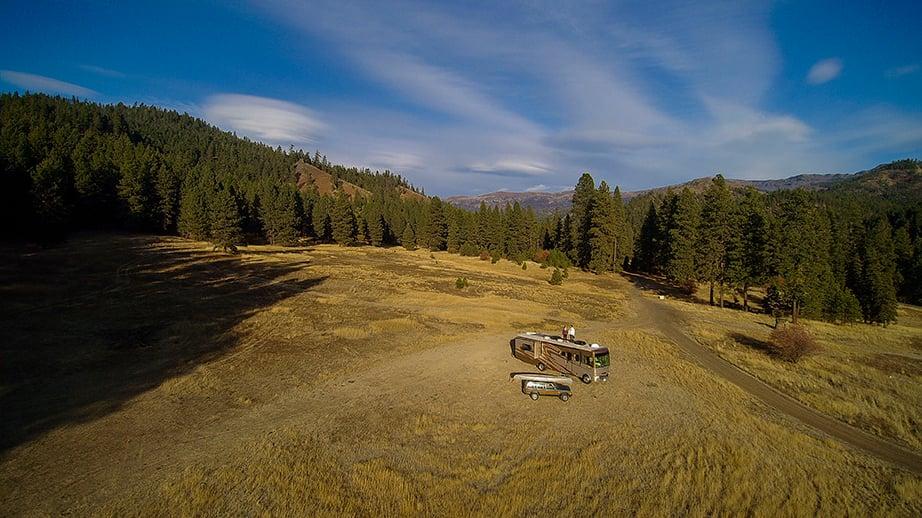 RVing on Bureau of Land Management land