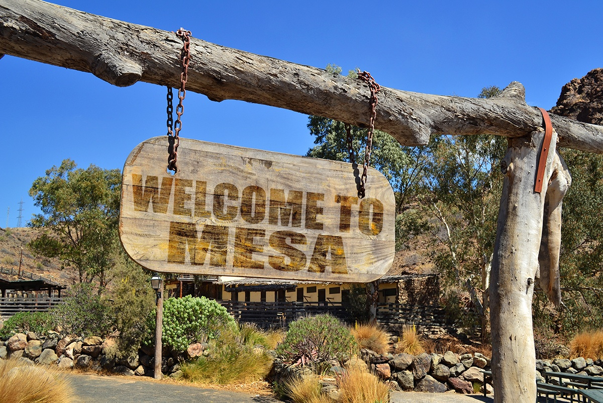 Mesa, Arizona is an artistic city with galleries, performances, fashion for hip RVers