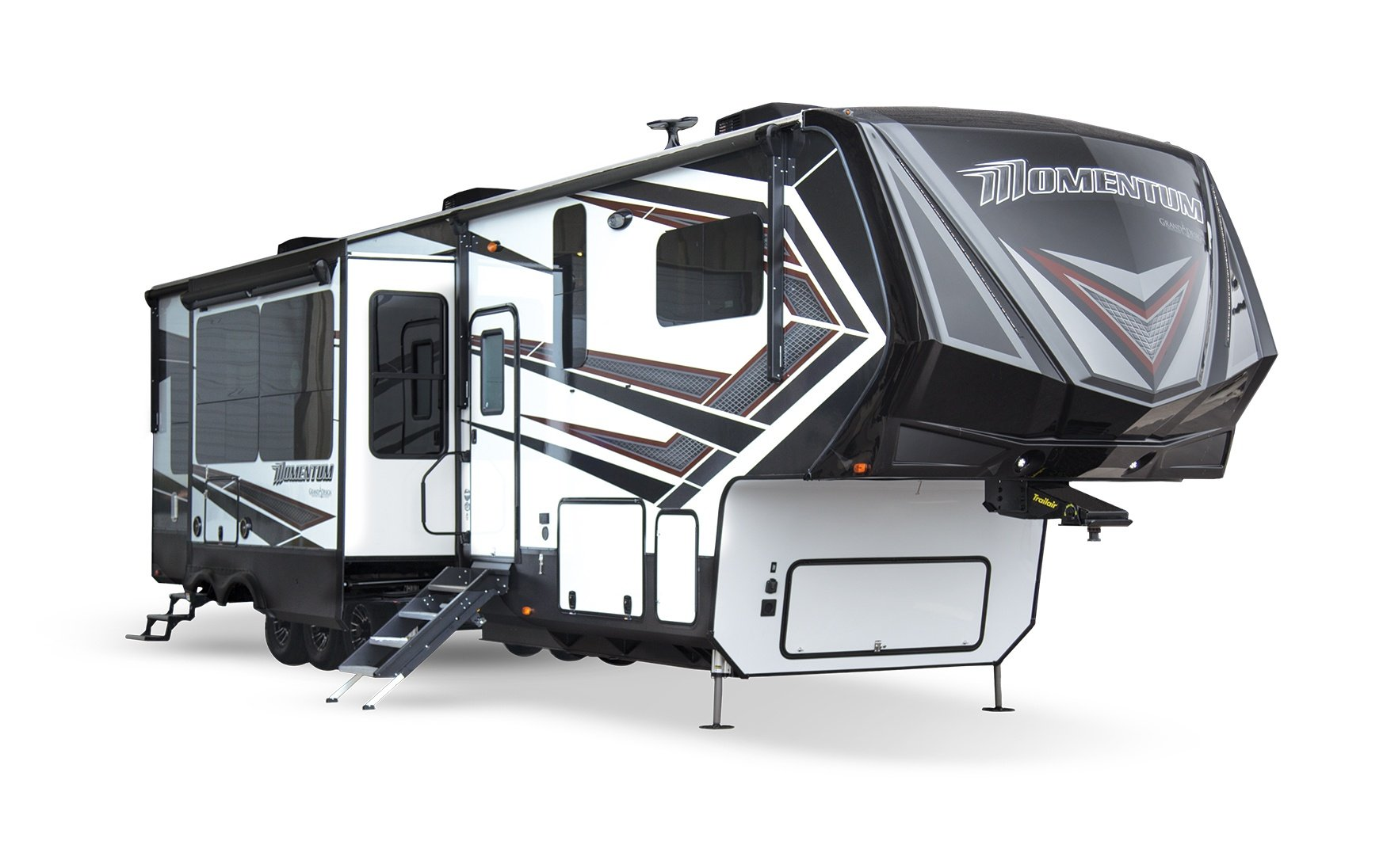 Grand Design Momentum Fifth Wheel Toy Hauler Exterior