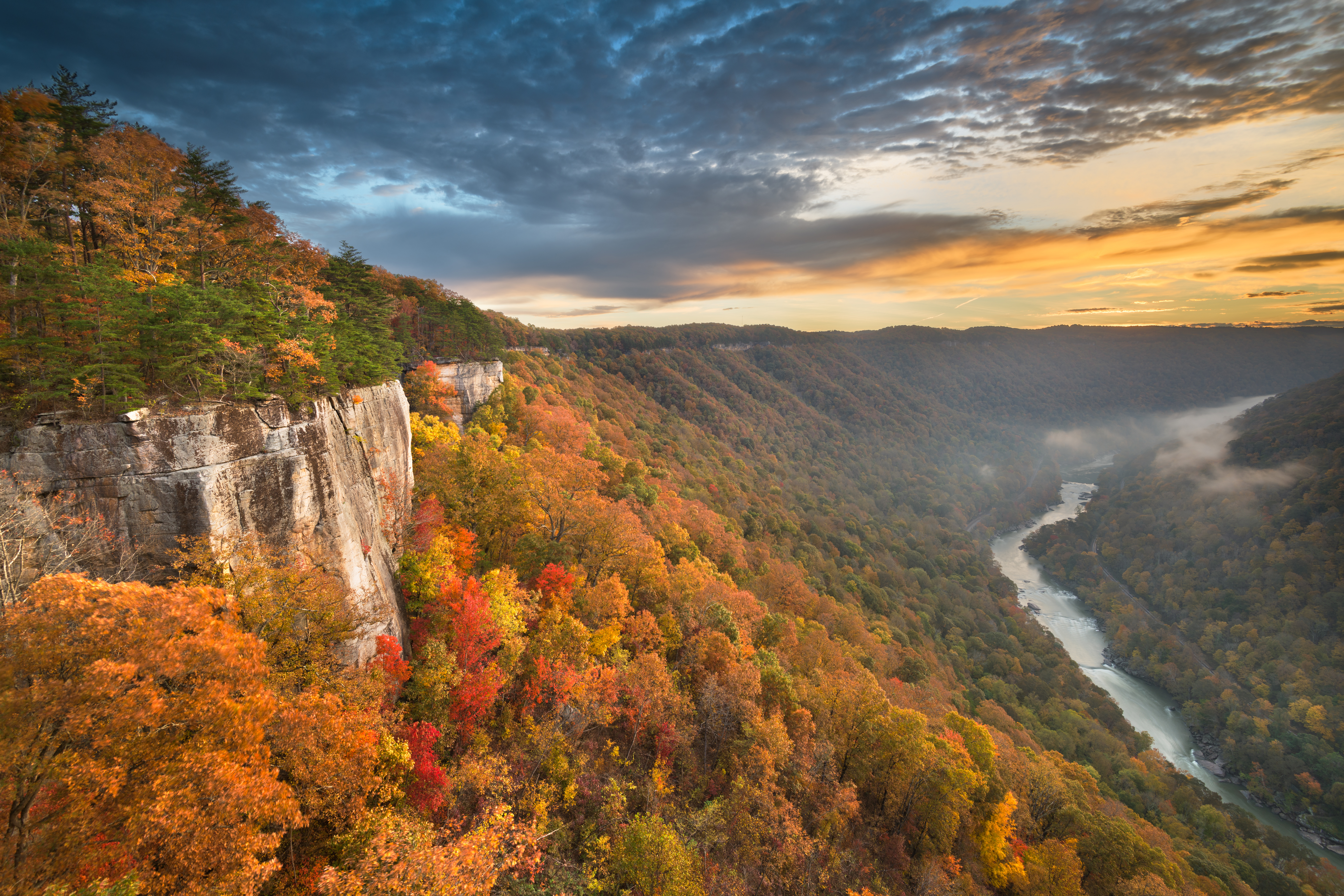 New River Gorge in West Virginia is a short detour for RV snowbirds traveling to Florida on I-77