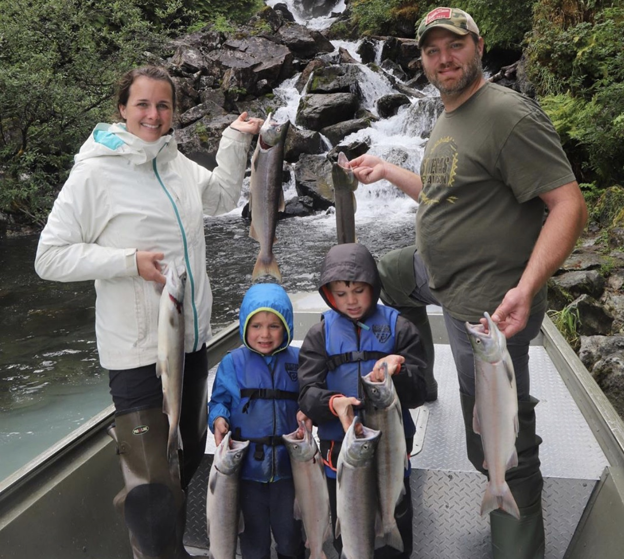 home with the hoopers fishing in alaska