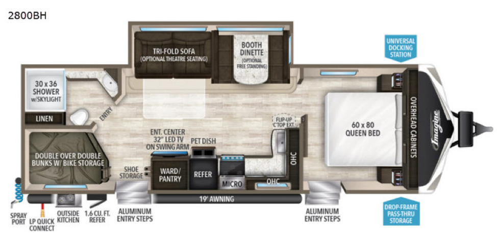 Grand Design Imagine Floor plan