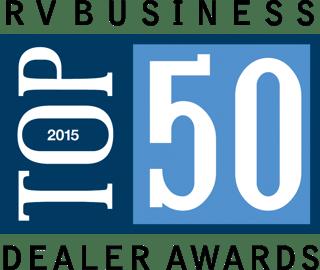RV Buisness Top 50 dealer award
