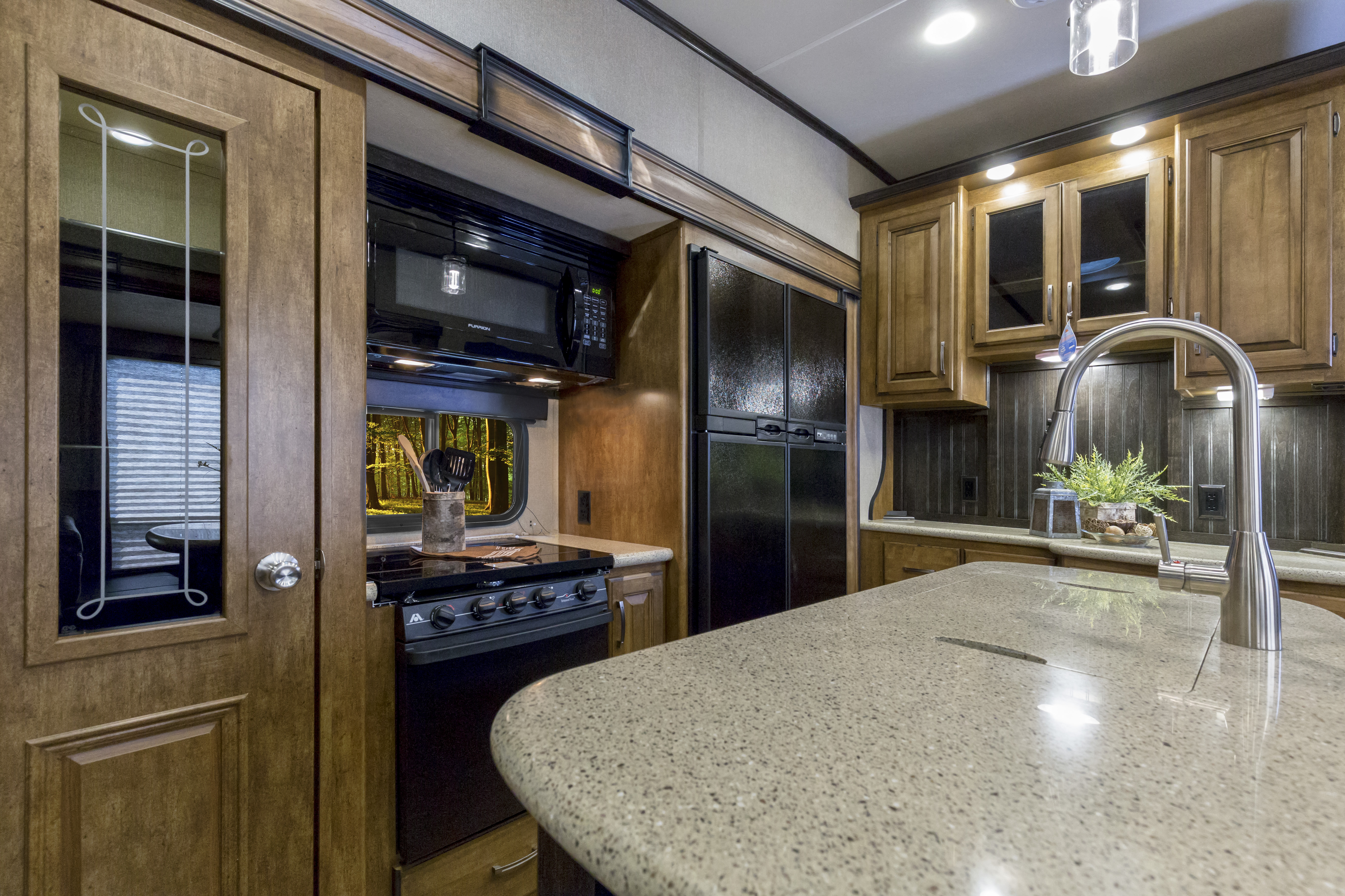 grand design reflection fifth wheel kitchen with island