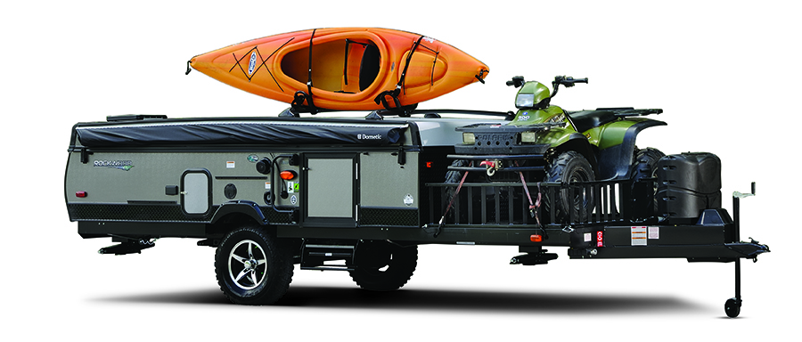 Top 5 Pop-Up Campers: Forest River Rockwood Extreme Sports Package
