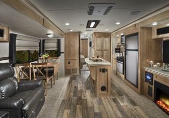 Rockwood Windjammer 3025W B2F Kitchen