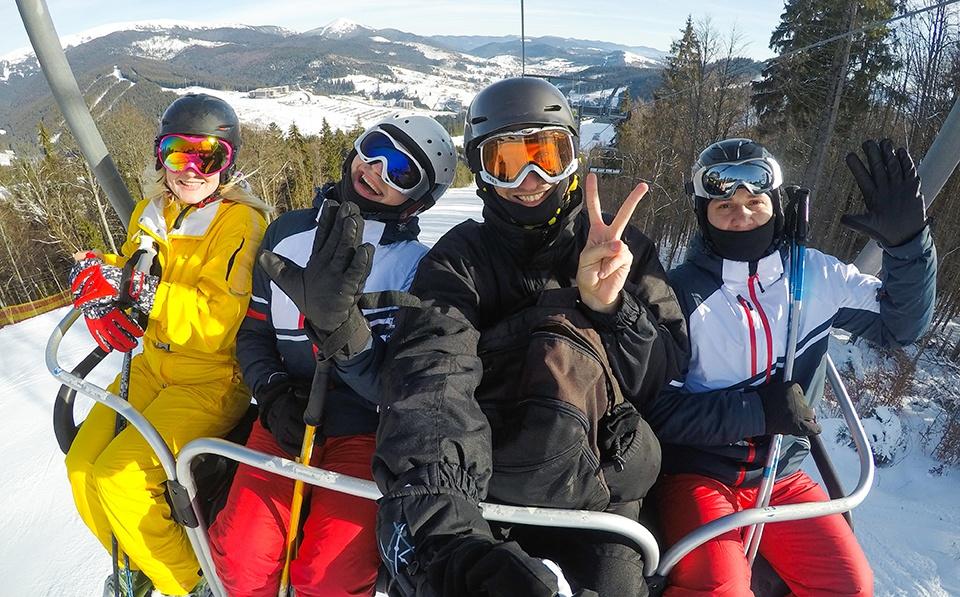 Four-season RVers can camp close to ski resorts.