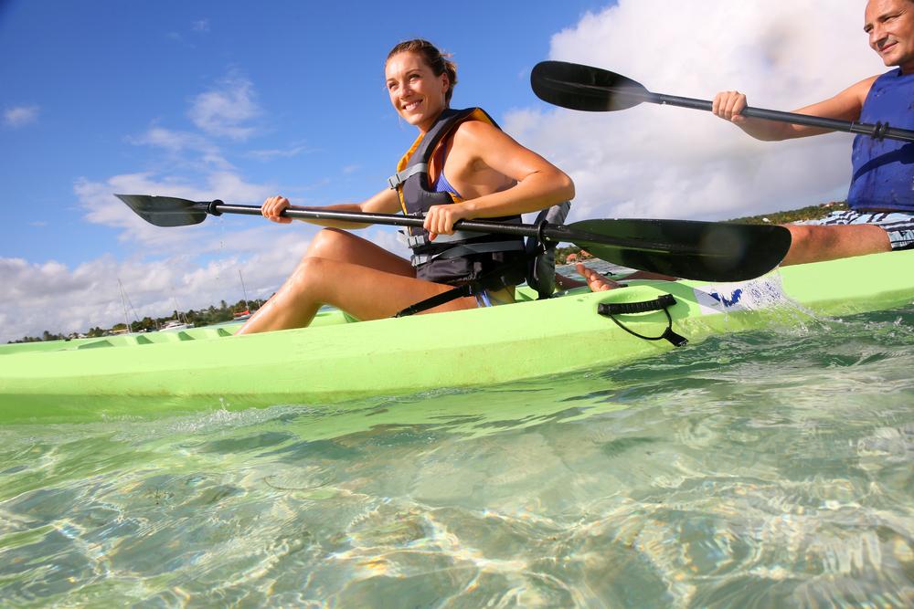 Kayaking at Silver Springs State Park, Florida