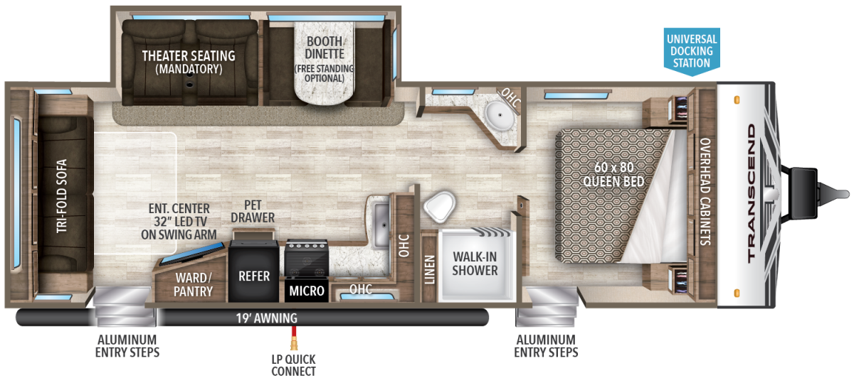 Transcend-26RLS floor plan