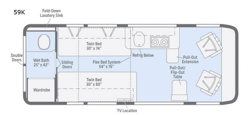 guide-to-campervans-winnebago-Travato-floorplans