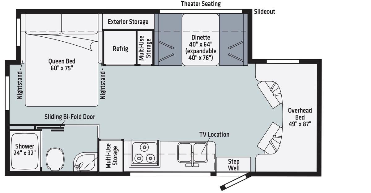 Winnebago Vita Floorplan