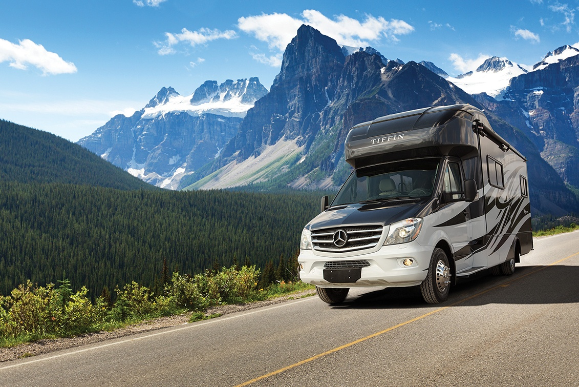 The Tiffin Wayfarer Class C motorhome is luxurious and high quality