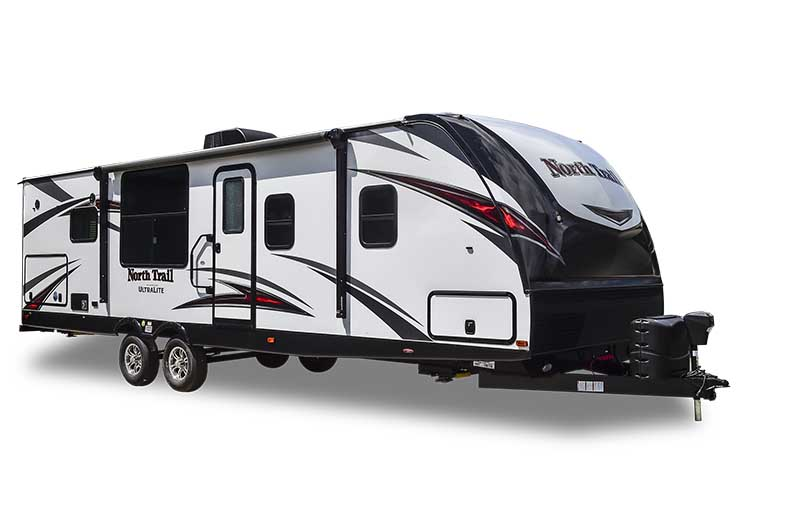 north trail travel trailer