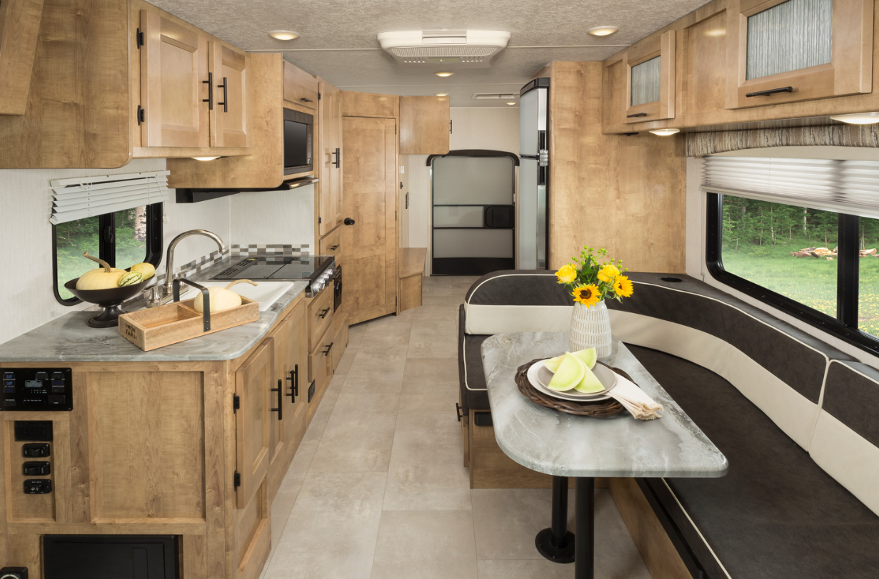 class c motorhome features