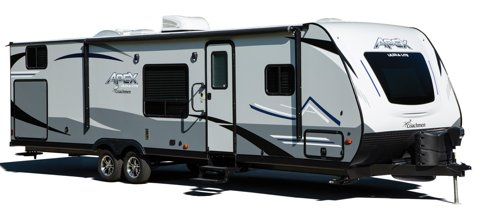coachmen apex ultra lite travel trailer exterior-1