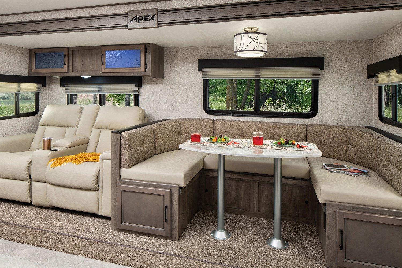 coachmen apex ultra lite travel trailer interior