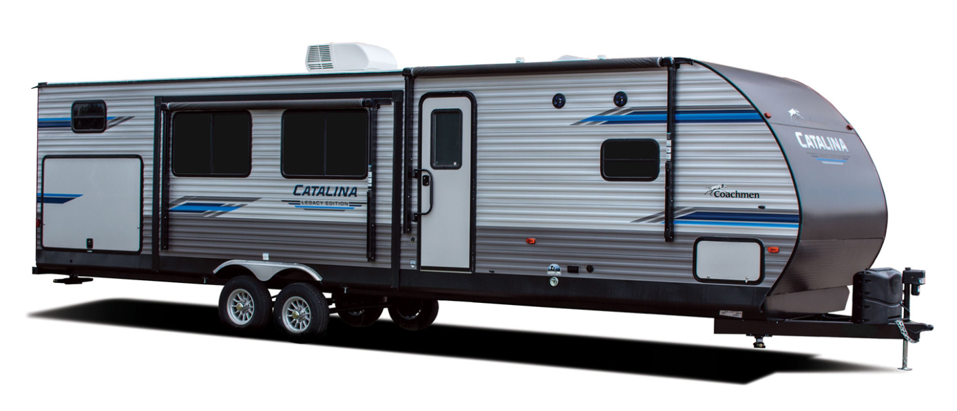 coachmen catalina legacy edition travel trailer exterior