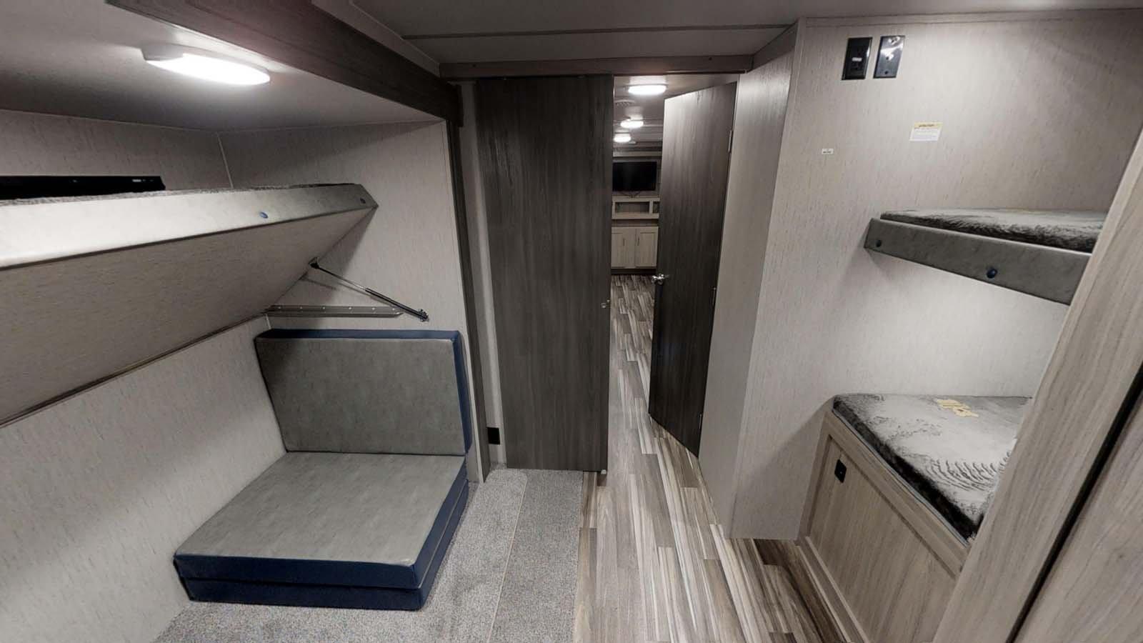 coachmen freedom express interior bunkhouse
