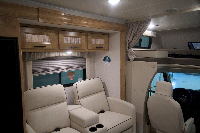 coachmen leprechaun class c motorhome living space