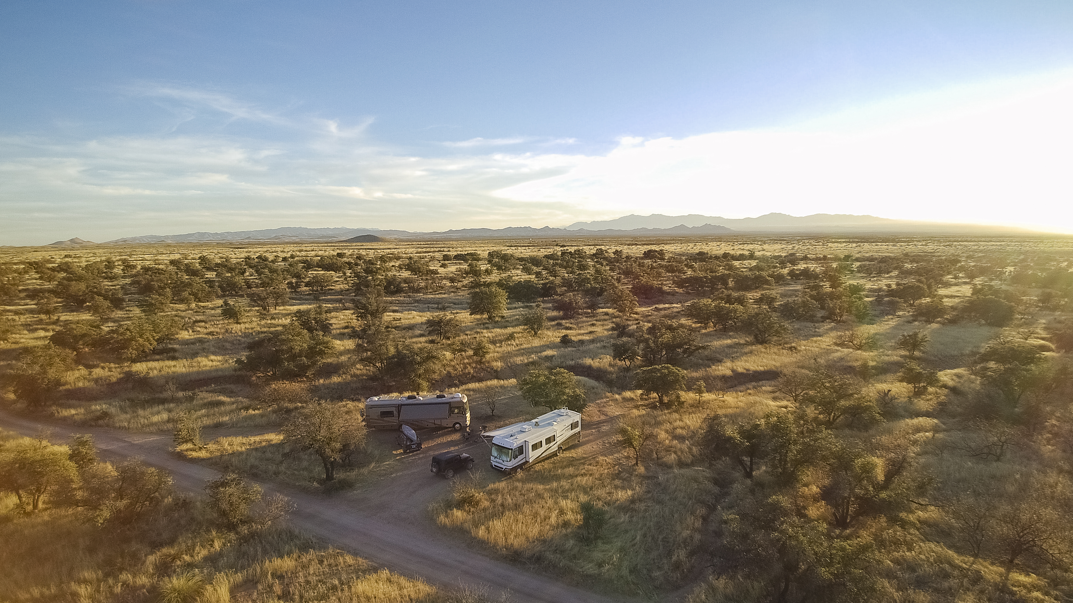 Practice water conversation to keep hydrated during your boondocking trip.
