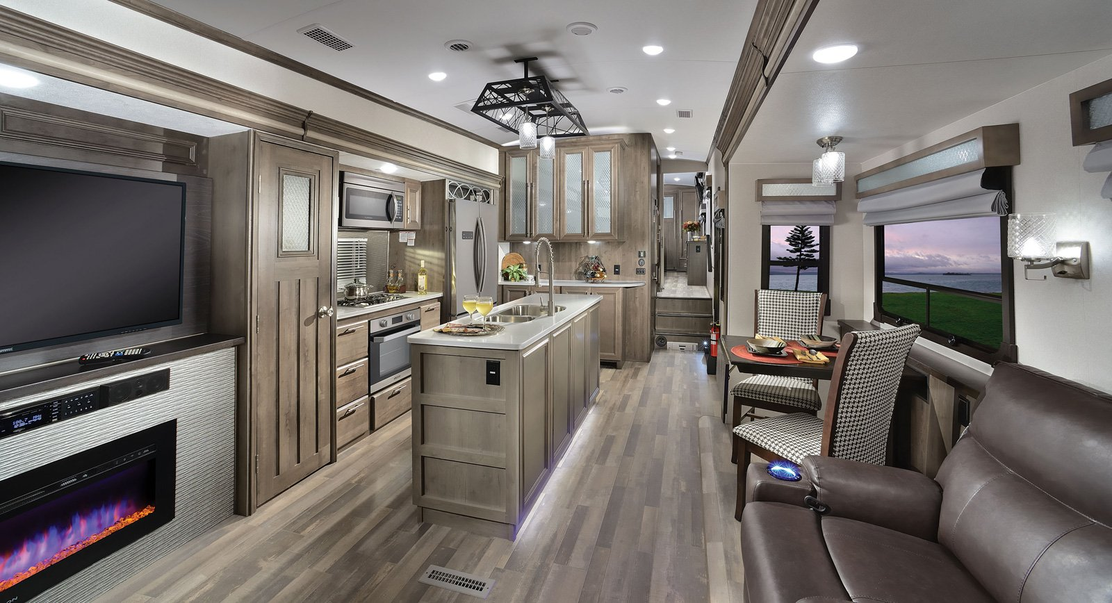 forest river cardinal luxury fifth wheel interior