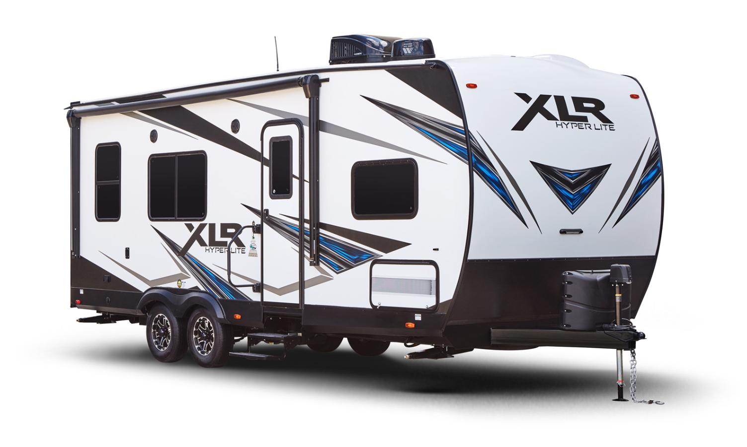 forest river xlr hyperlite toy hauler travel trailer exterior