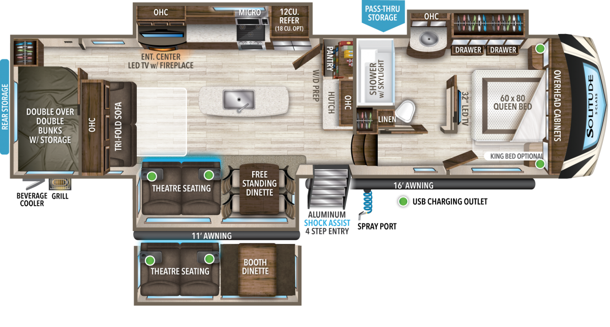 grand design solitude s class fifth wheel floorplan